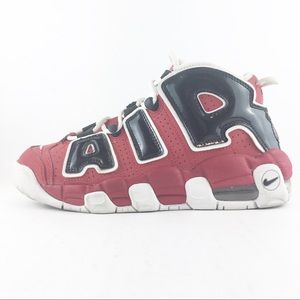 Nike Air Uptempo Boys 4Y Chicago Red